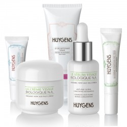 Anti-aging routine for dry skin types