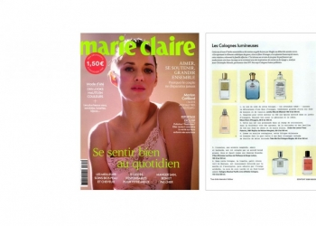 HUYGENS IN MARIE CLAIRE