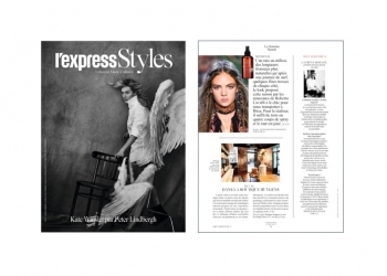 HUYGENS in L'Express Styles