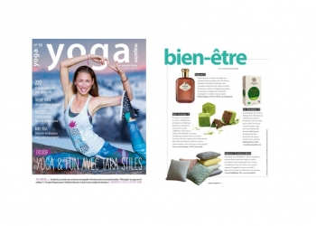 HUYGENS in Yoga Magazine