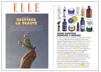 The Aroma Flow Mist in ELLE